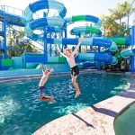 Slide and water fun