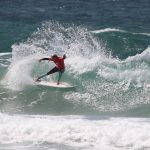 Surfing on the Tweed Coast